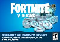 Cartão 1000 V-Bucks Fortnite