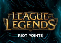 League of Legends Riot Points 200 MXN