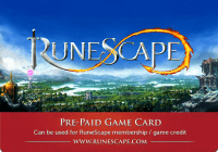 Runescape Gift Card 1 Month