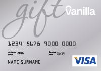 Card image of Vanilla eGift Card