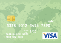 Prepaid Visa Card US$ 5