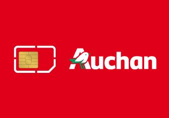 Card image of Auchan Télécom Top Up €100