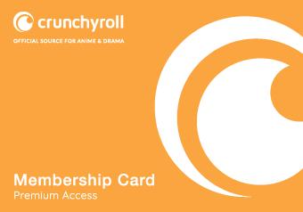 Card image of Crunchyroll Gift Card $25