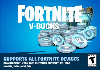 Carte 1000V-Bucks Fortnite