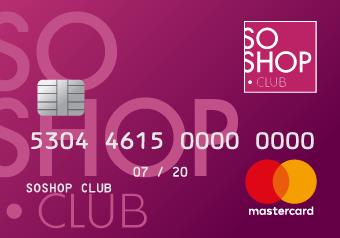 Card image of SoShop Card €100